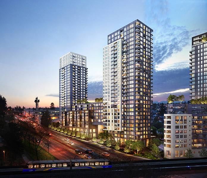 Wall Centre Central Park by Wall Financial