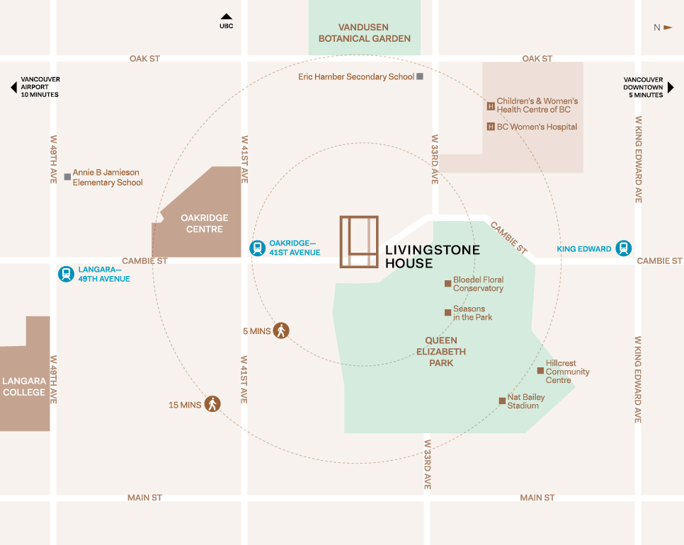 Livingstone House Location Map by Intercorp Projects Ltd.