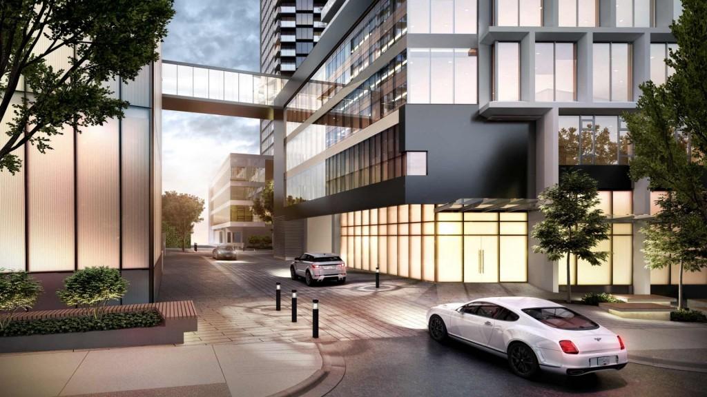 Burrard Place Building Laneway