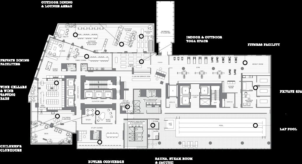 Burrard Place Building Clubzone
